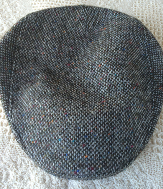 Adult Tweed Donegal Touring Cap